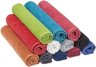 Efalock Professional Hand Towel, 90 cm Length x 50 cm Width, Raspberry, 0.98 kg