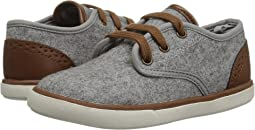 First Steps Faux Wool Sneaker (Infant/Toddler)