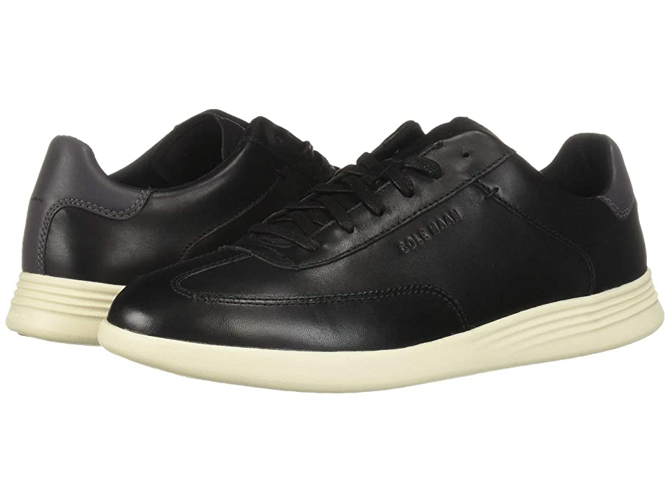 Cole Haan Grand Crosscourt Turf Sneaker (Black Leather) Men