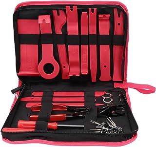 Garneck 30 peças de remoção de instrumentos de áudio, clipes de aparar, kit de ferramentas de remoção de rádio, ferramenta...
