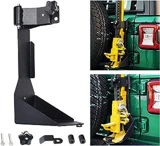 Omotor Off-Road JL Tailgate High Lift Jack Mount Bracket fit for Jeep Wrangler JL 2018 2019