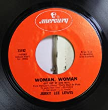 JERRY LEE LEWIS 45 RPM WOMAN, WOMAN / TOUCHING HOME