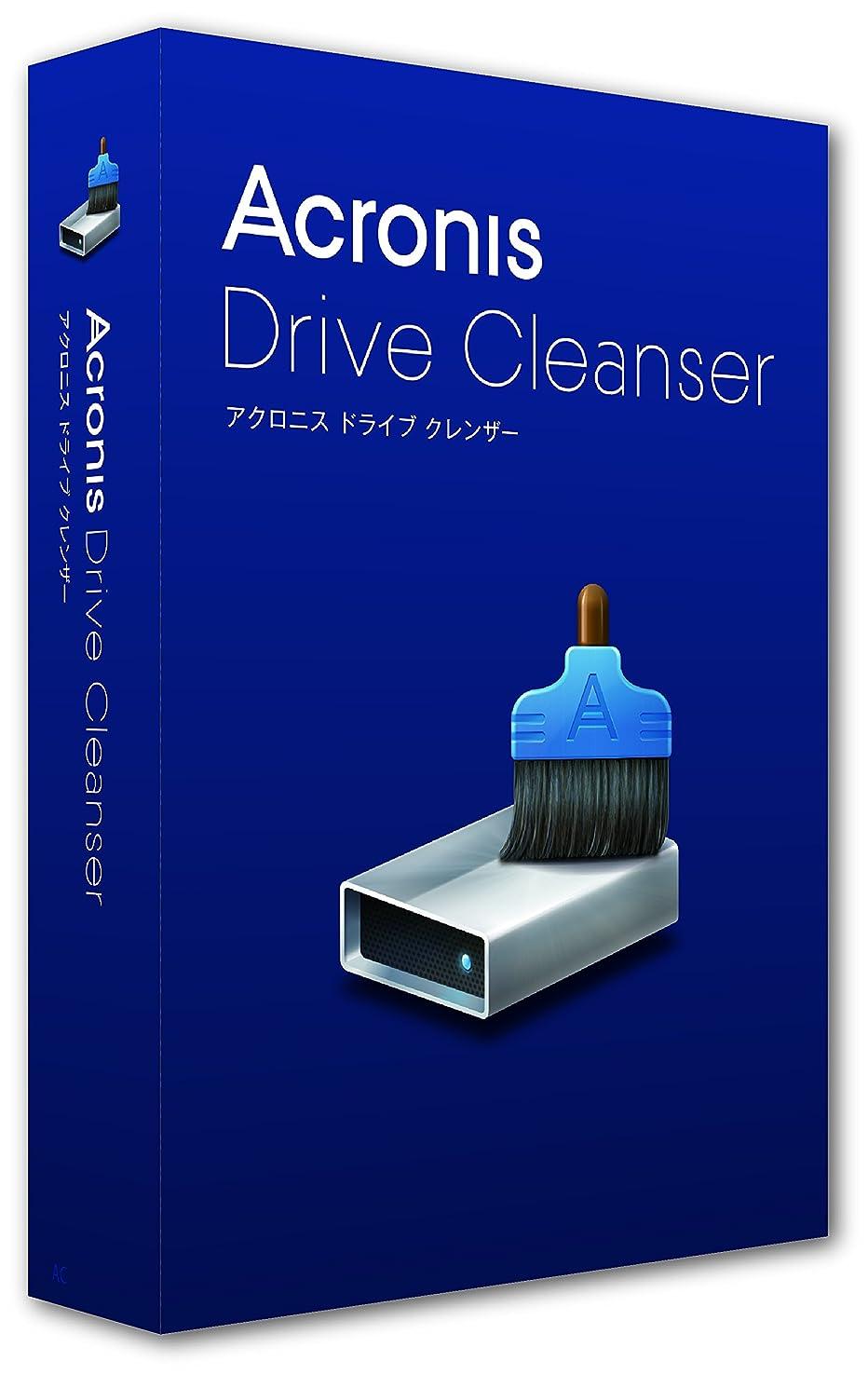 欠員人差し指レイアウトAcronis Drive Cleanser full box