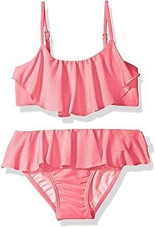 Girls' Ruffle Tankini Swimsuit Set