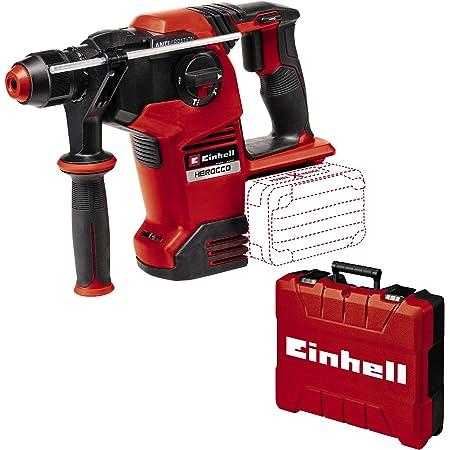 Einhell Akku-Bohrhammer Herocco 36/28 Power X-Change (Li-Ion, 2x 18 V, Twin-Pack, 3.2 Joule, 29 Nm, bürstenloser Motor, SDS+ Werkzeugaufnahme, inkl. E-Box, ohne Akku und Ladegerät)