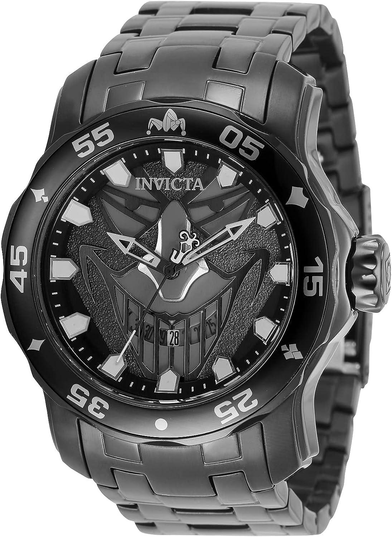 Invicta DC Comics - Joker 35616 Reloj para Hombre Cuarzo - 48mm
