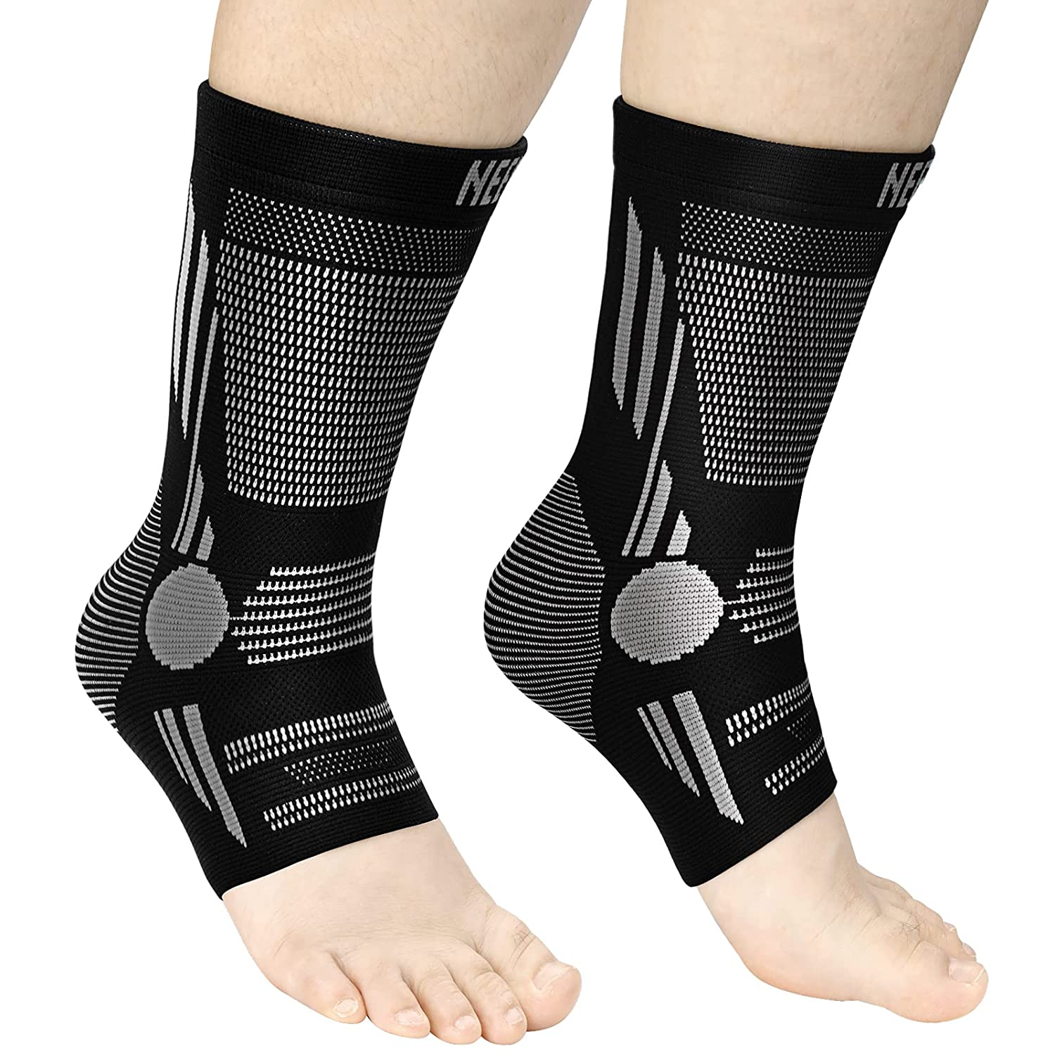 Complete Free Shipping NEENCA Professional Ankle Brace Pair Compression New mail order Sleeve