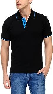 Scott Men's Cotton Polo T-Shirt - Black - FBA_sp12s
