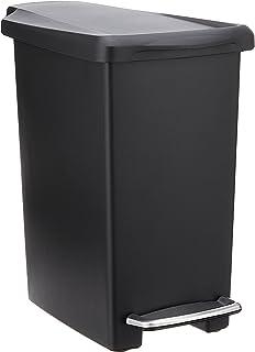 simplehuman 10 Liter / 2.6 Gallon Compact trash can, Black