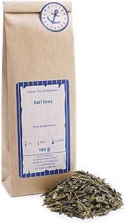 Grüner Tee lose Grüner Tee Earl Grey Grüner Tee, Zitronen Grüntee feine Bergamotte 100g