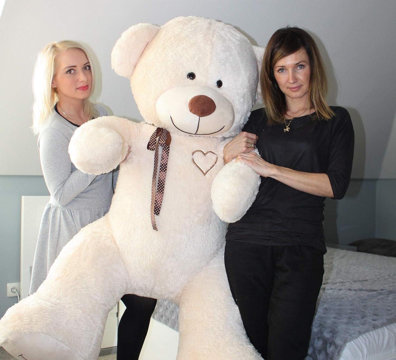 Odolplusz XXL Weicher Plüsch-Teddybr Plüschbr Kuscheltier 190cm Geburtstag Weihnachten Geschenk für Baby Kinder Mdchen Braun