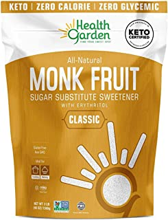 Sponsored Ad - Health Garden Monk Fruit Sweetener Classic - Non GMO - Gluten Free - Sugar Substitute - Kosher - Keto Frien...