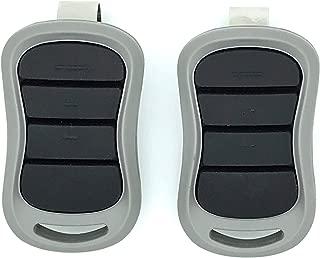 Gate1access 2 Pack - Replacement for Genie G3T-R G1T-BX GITR-3 GIT-1 GIT-2 GIT-3 - Overhead Door O1T-BX O3T-BX OCDTR-3 Remote