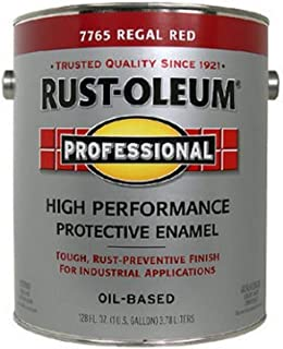 RUST-OLEUM 215965 Enamel Paint, Regal Red