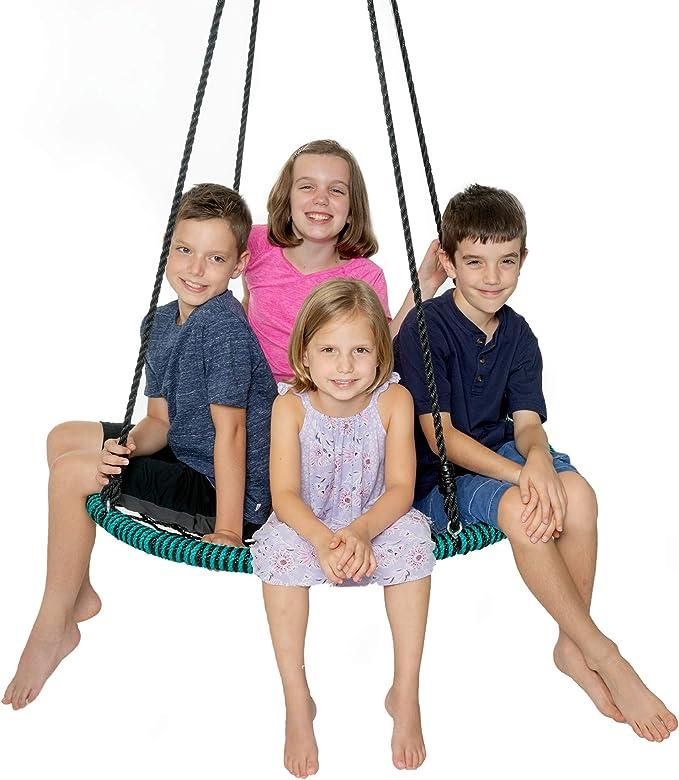 Play Platoon Spider Web Tree Swing - Best Construction
