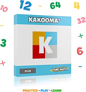 Math Games for Kids - Addition Games - Home Learning - Kakooma Plus (Addition & Subtraction) - Math Puzzle - Trains Your Computational Skills! - Great for All Ages! - 100% Math Based!