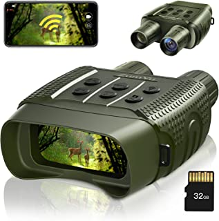 ZumYu Digital Night Vision Binoculars for Complete Darkness,Infrared Night Vision Binoculars & Goggles 1000ft/305m with 2....