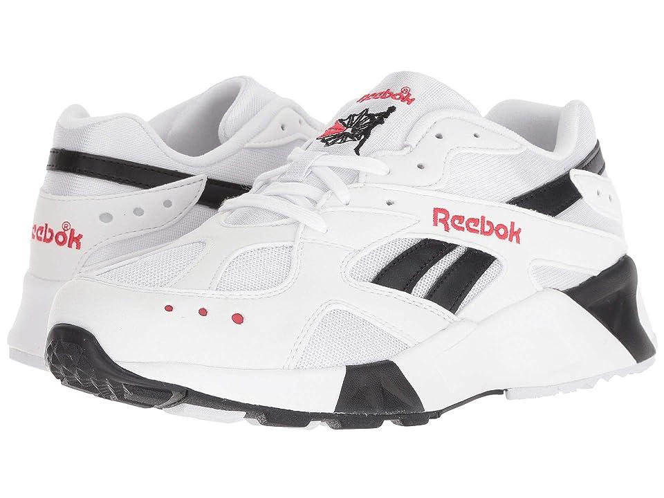 Reebok Lifestyle Aztrek (White/Black/Red) Athletic Shoes