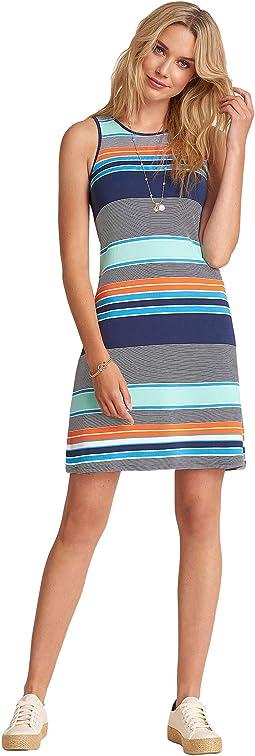 Bella Dress - Coastal Stripes