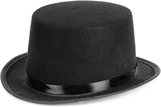 Child Deluxe Black Felt Top Costume Hat