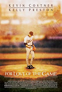FOR LOVE OF THE GAME MOVIE POSTER 2 Sided ORIGINAL 27x40 KEVIN COSTNER