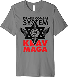 Israeli Combat System Krav Maga Premium T-Shirt