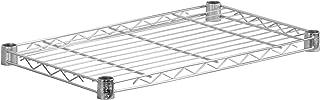 Honey-Can-Do SHF350C1436 Steel Wire Shelf for Urban Shelving Units, 350lbs Capacity, Chrome, 14Lx36W