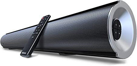 2.1 Channel Bluetooth Sound Bar with Built-in Dual Subwoofer Wohome TV Soundbar 38-Inch..