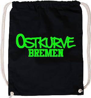 EZYshirt Ostkurve Bremen Baumwoll Stoffbeutel