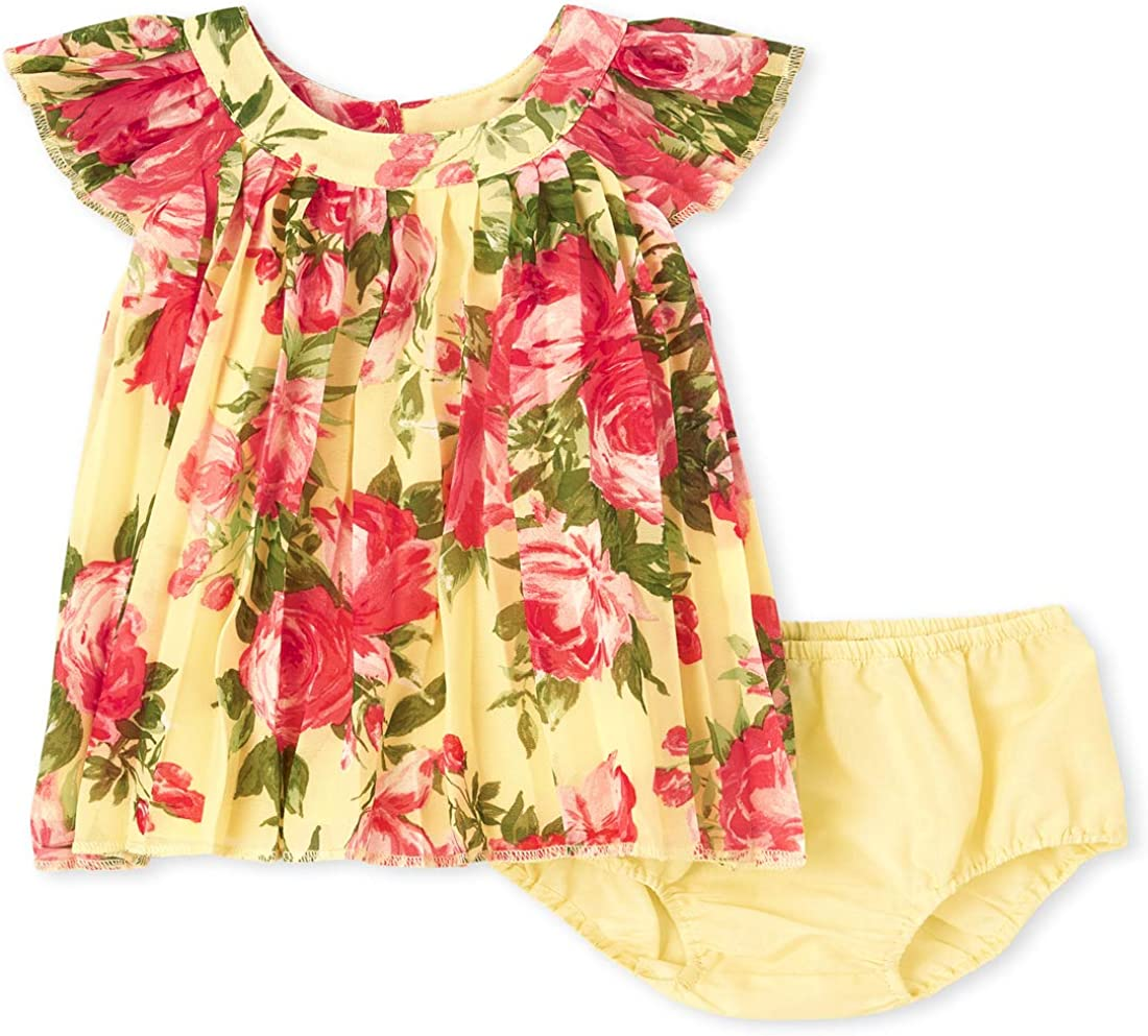 The Children's Place Girls' Floral Print Dress
