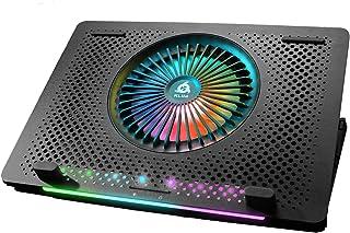 """KLIM Orb + Refroidisseur PC Portable - 11"""" à 15,6"""" + Éclairage RGB + Support Ordinateur Portable Gaming + Ventilateur USB..."""