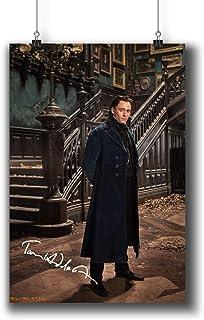 Crimson Peak (2015) Movie Photo Poster Prints 487-012 Sir Thomas Sharpe Tom Hiddleston Reprint Signed Casts,Wall Art Decor Gift (A4|8x12inch|21x29cm)