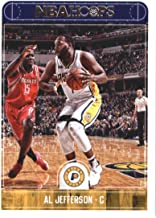 2017-18 NBA Hoops #154 Al Jefferson Indiana Pacers Official Basketball Card made by Panini