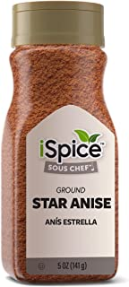 iSpice PREMIUM GROUND ANISE | All Purpose |Essential Kitchen Spices |All natural |5 oz (141g)