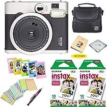 Fujifilm instax mini 90 Instant Film Camera + Fujifilm instax Film 20 Sheets + Extra Accessories Kit (Neo Classic)