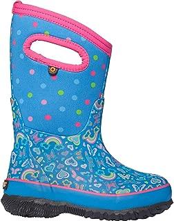 BOGS Classic Rainbow Boot - Girls' Light Blue Multi, 1.0