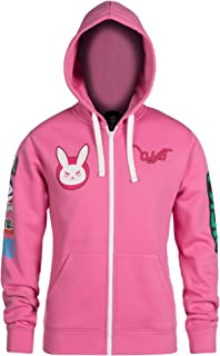 JINX Overwatch Ultimate D.Va Zip-Up Hoodie