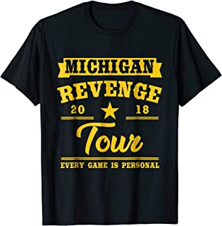 Michigan Revenge Tour T Shirt