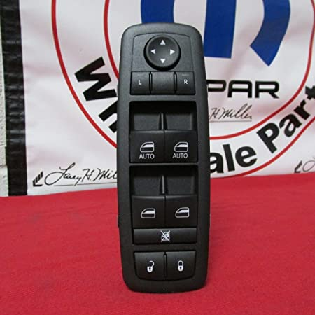 68110866 AA AB Fit for Dodge Ram Chrysler Driver Side Window Switch 12 13 14 15