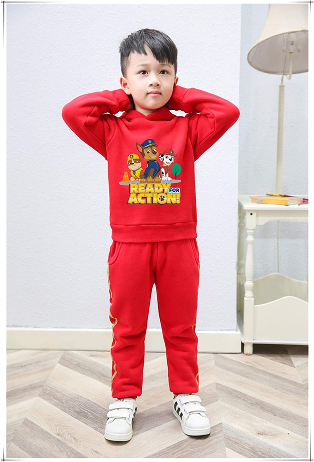 Pieceng Boys Girls Paw Patrol Hoodies Toddler Long Sleeve Hoodie Pants Outfits Winter Clothes Set for Kids