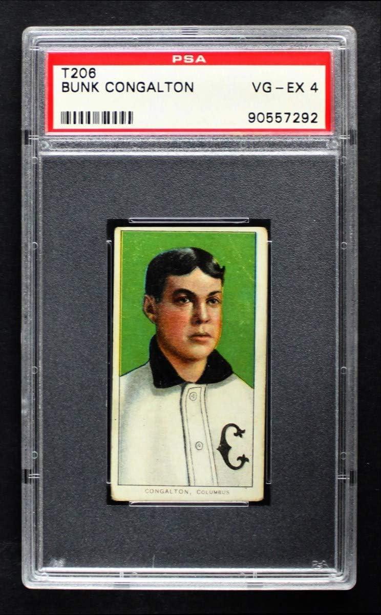 1909 T206 Bunk Congalton Minor New arrival Card Baseball - League Ranking TOP20 Columbus
