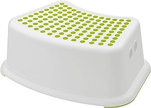 Non-slip kids step stool W094 - white