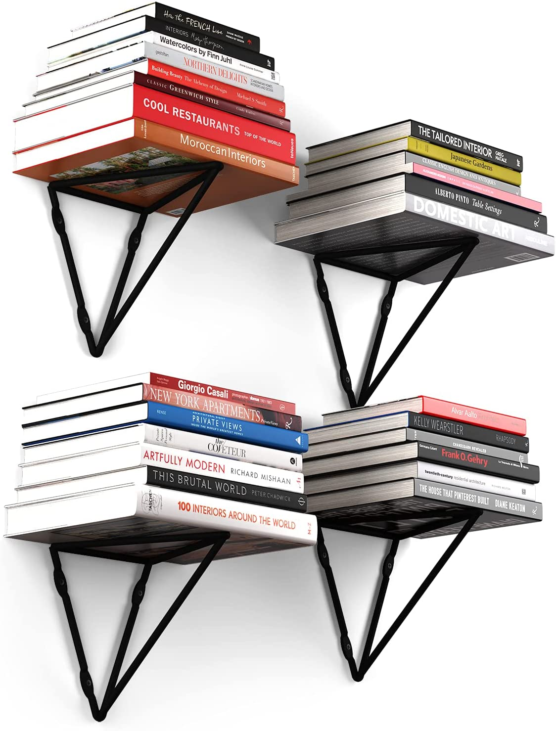 Wallniture Prismo Sale special price Triangle Floating Shelf Spasm price Bracket Plant Hanger
