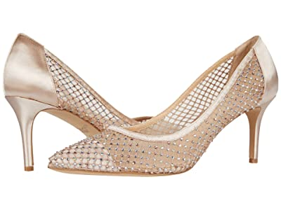 Jewel Badgley Mischka Floria (Champagne/Nude) Women