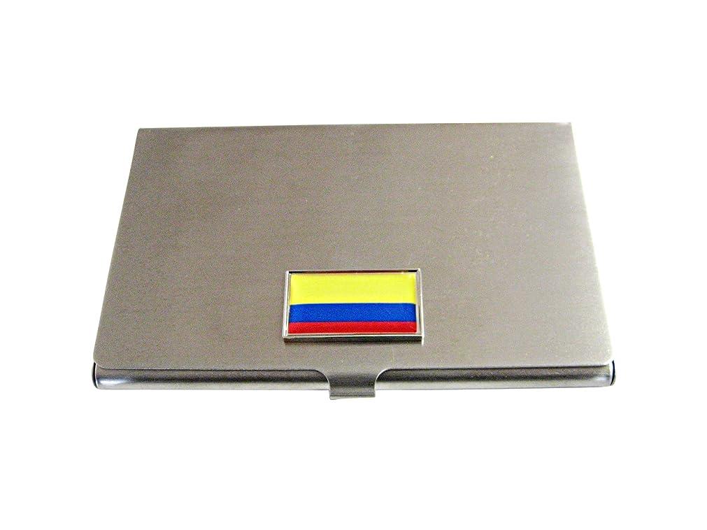 磁気説得力のある特性シンボーダーコロンビアフラグビジネスカードホルダー