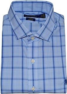 99e8168e051e3 Polo Ralph Lauren Men s Slim Fit Easy Care Stretch Long Sleeve Oxford Shirt