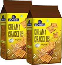 Sapphire Creamy Crackers Pack of 2, x 350 g