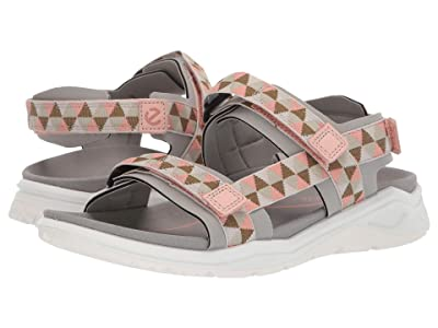 ECCO Sport X-Trinsic Strap Sandal (Wild Dove/Muted Clay) Women