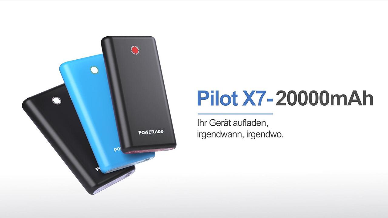 Poweradd Pilot X7 20000 Mah External Battery Power Elektronik
