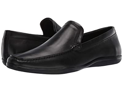 Kenneth Cole Reaction Oskar Slip-On (Black/Black) Men